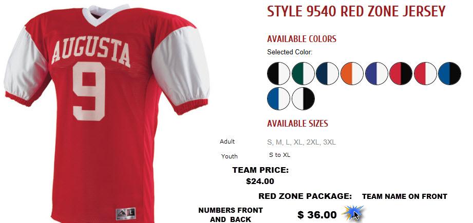 jesco football jersey
